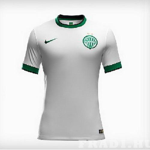 Footballmania - Focis ajándékok - FTC Nike csapatmez idegenbeli fehér  felnőtt  15 S M méret csak e5bb91c92c